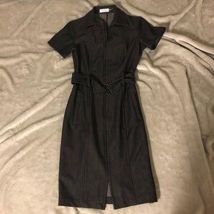 Calvin Klein Zip Up Dress